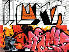 Graffiti Street Art Speerstra Gallery 14